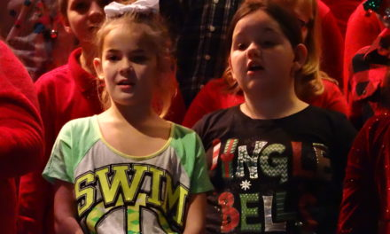 Brookfield Elementary School winter program by grades two and three