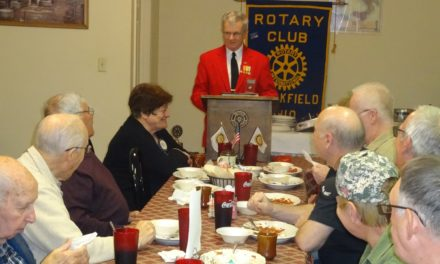 Saying 'Thank You': Rotarians honor local veterans