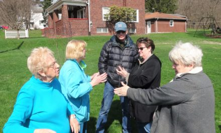 Trustee holds first neighborhood meeting