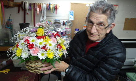 Florist marks 50 years