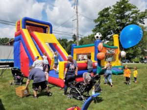 Summerfest kids play area