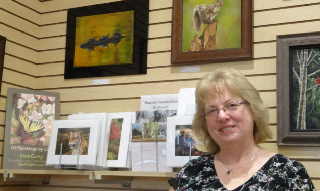 Artist aims for picture perfect paintings