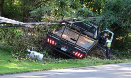 Man dies in crash on Route 7