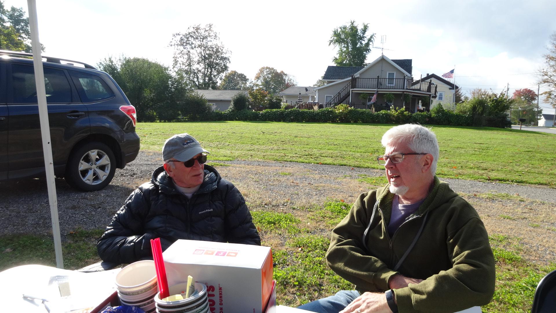 Dan Suttles, left, and Jim Logan.