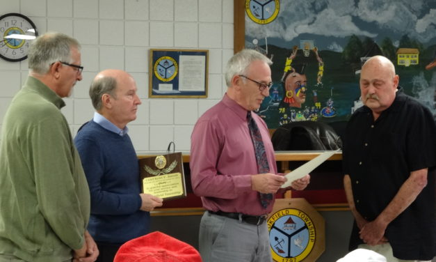 Trustees honor Keith Barrett