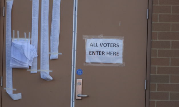 Voter turnout seems to be above the norm
