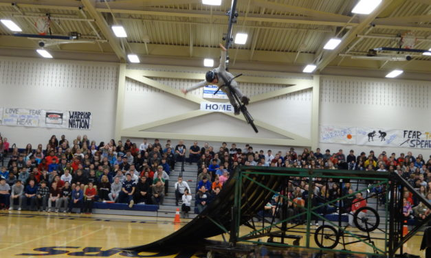 Flying high: Cool tricks and a positive message