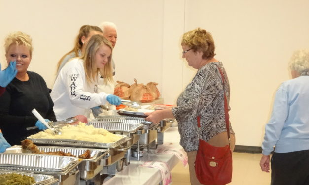 Meal brings community together