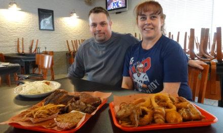New eatery opens with smokin' menu