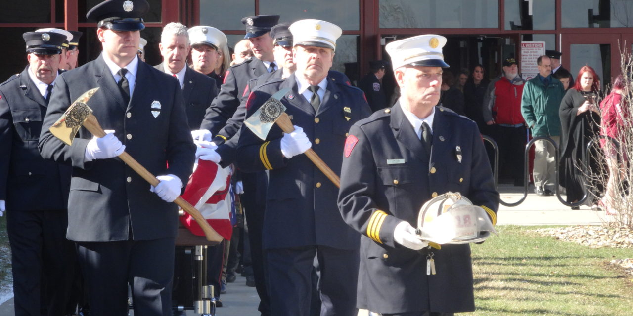 Last Alarm: Ex-Fire Chief laid to rest