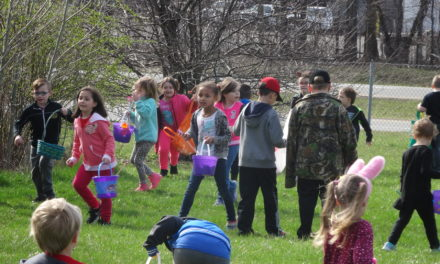 Brookfield Easter egg hunt 2019