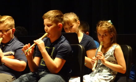 Brookfield Elementary recorder concert