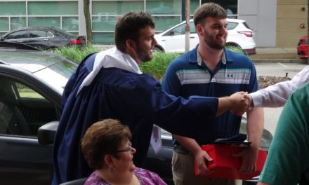 Valedictorian Dustin Moffett's address