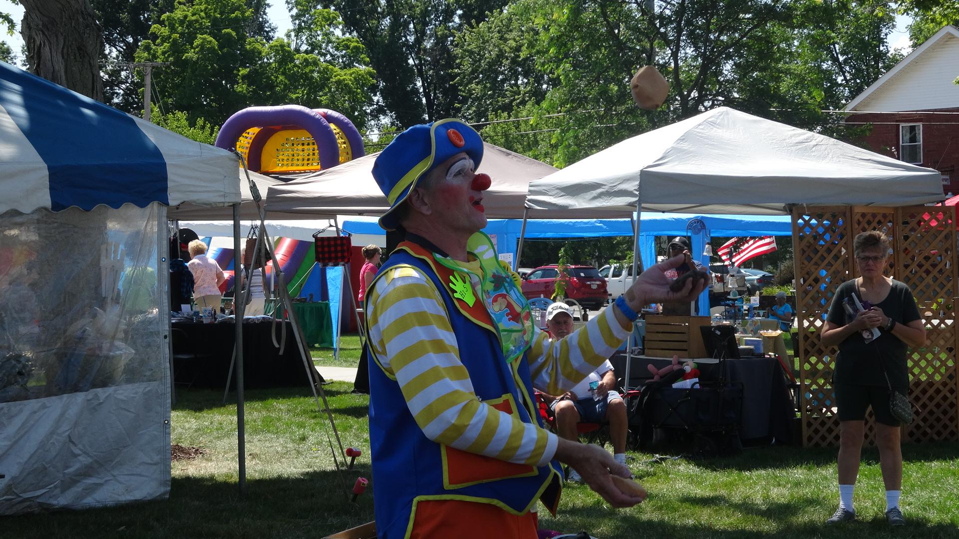 High 5 the Clown