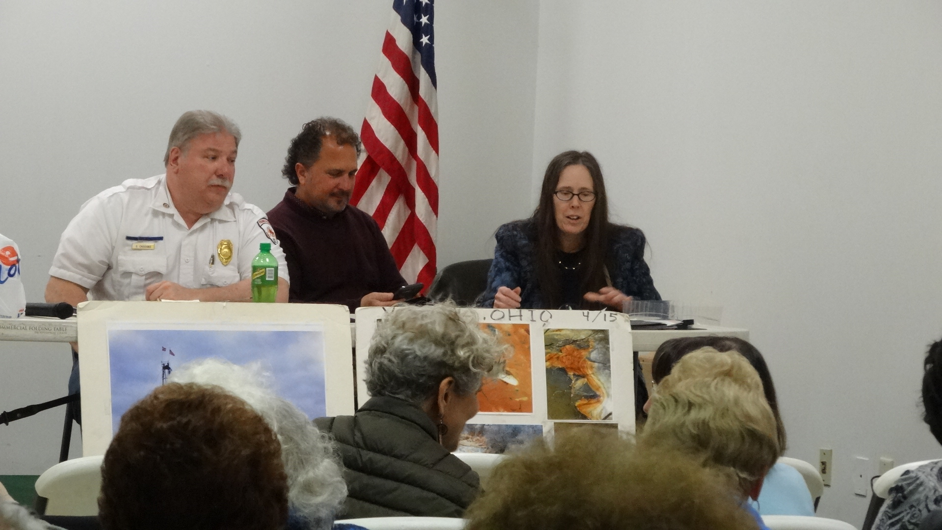 From left: Silverio Caggiano, Rick Hernandez and Jane Spies