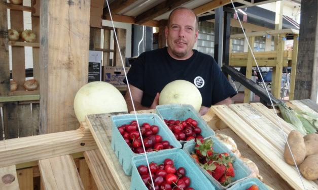 Bar owner takes shot at produce