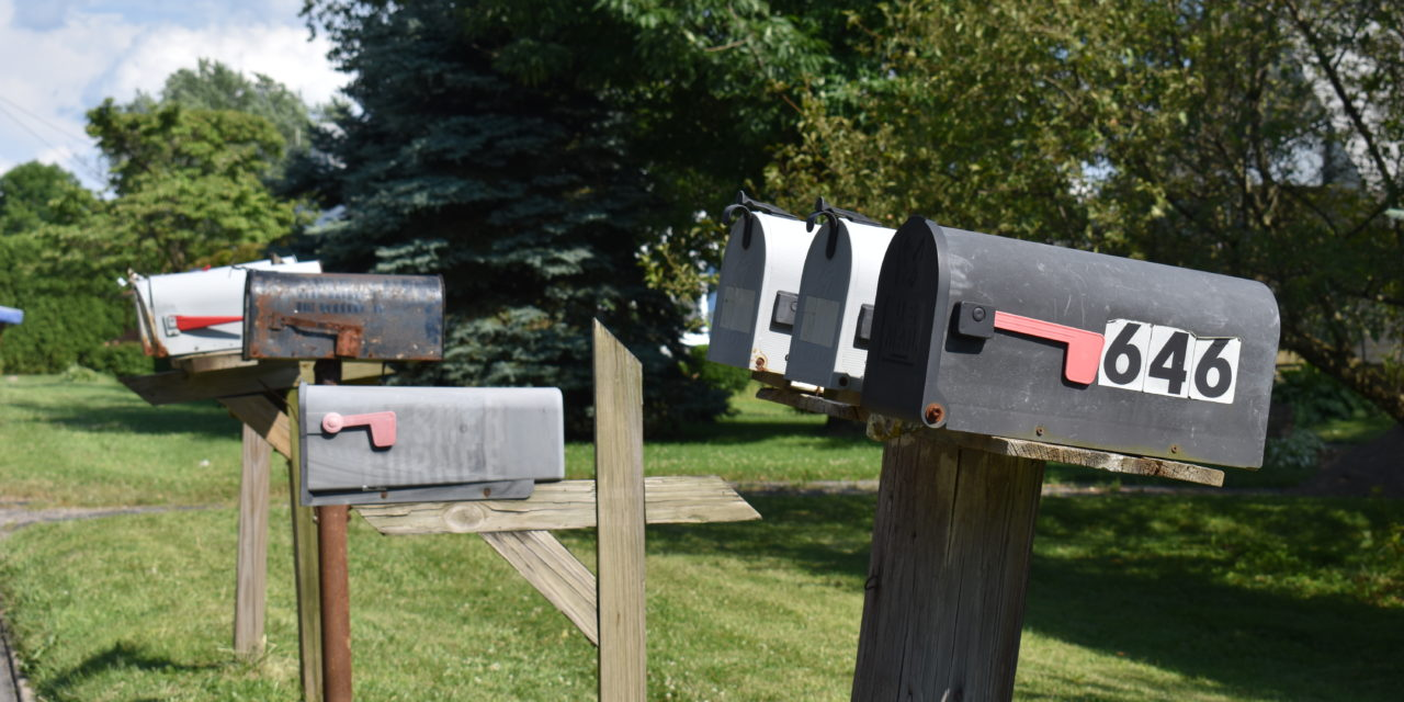 Keep your mailbox maintained