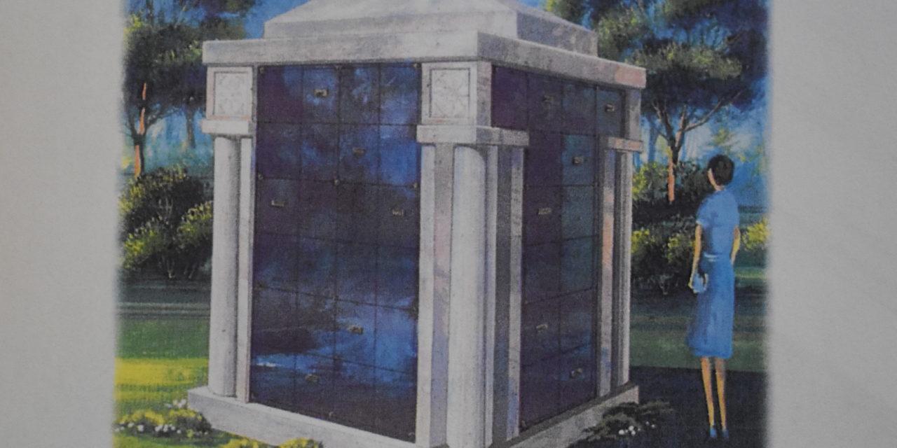 Trustees order cemetery fixture