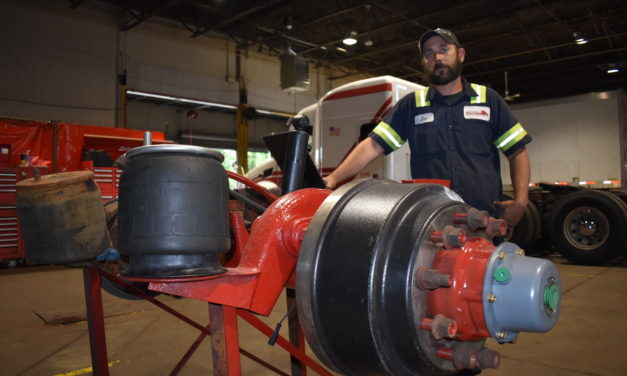 Strimbu creates truck repair shop
