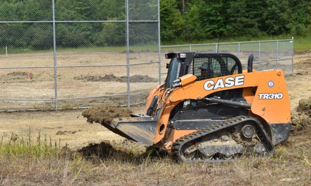 Ball league starts field upgrades