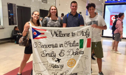 Siblings immerse themselves in Italy