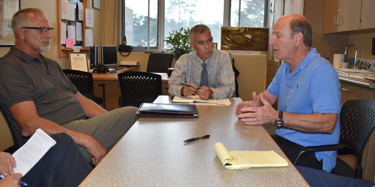 Officials share their visions for school, township