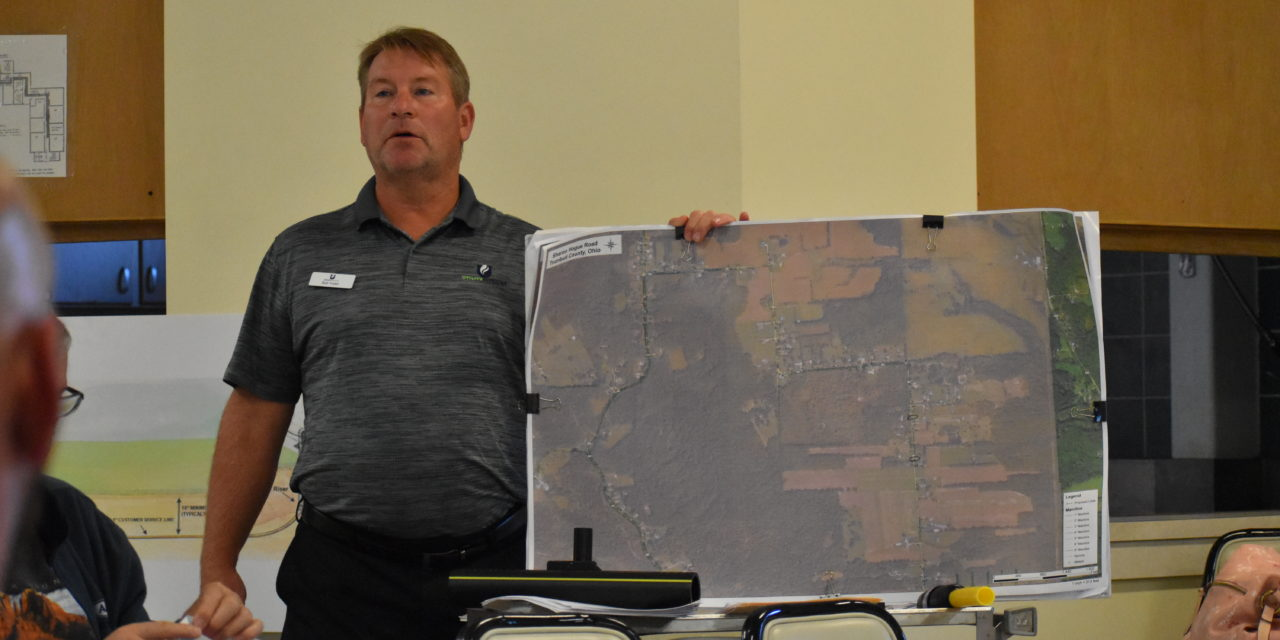 Push on to extend natural gas pipeline on Sharon Houge Road