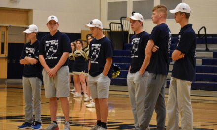 Pep rally sends golf team off to state