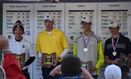 Golf team places fourth in state tourney