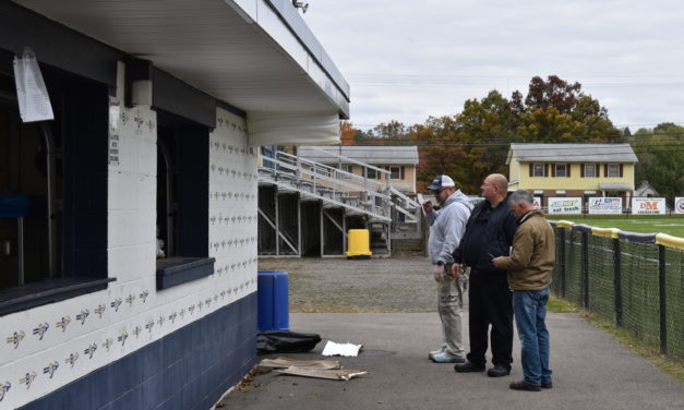 Fire damage minimal to concession stand
