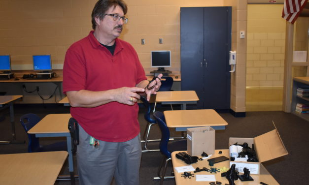Grant helps school create 'maker space'