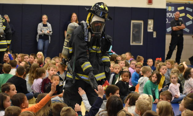 Despite scary look, firefighters are our friends