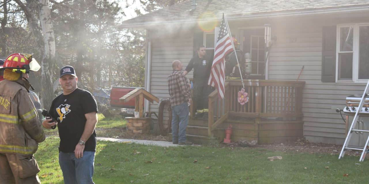 Exhaust fan causes fire on Linden