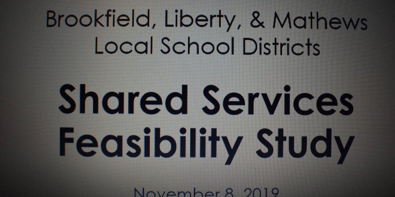 School shared services public meeting