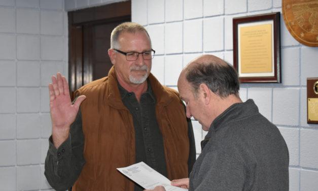 Haun sworn in for new term