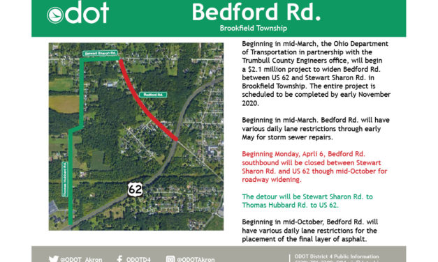 Bedford Road project ahead of schedule