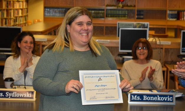 National VFW honors Brookfield teacher