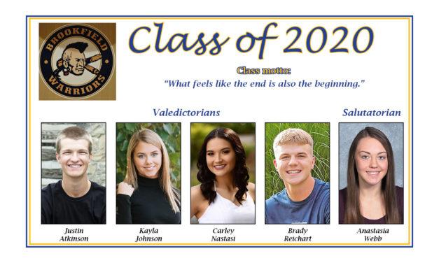 Brookfield High School Class of 2020