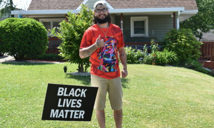 Local man identifies with Black Lives Matter