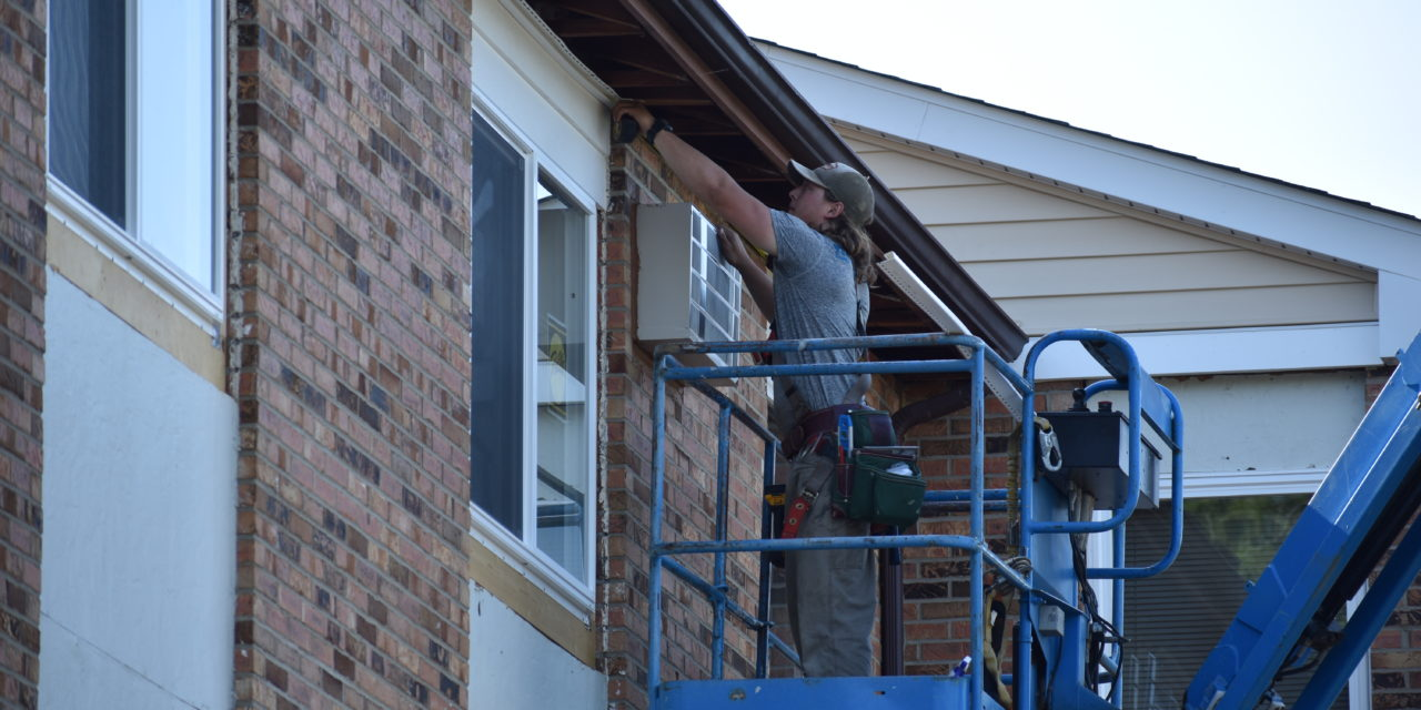 Projects improve public housing properties