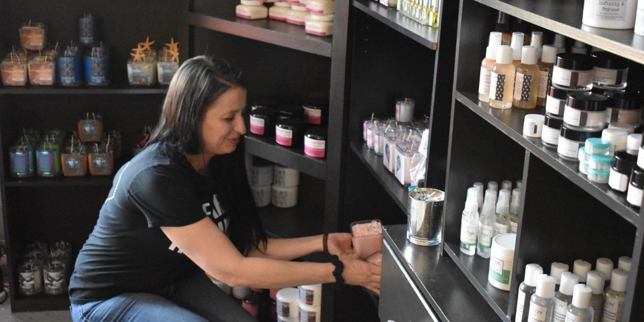 Entrepreneur takes 'wings' in new store