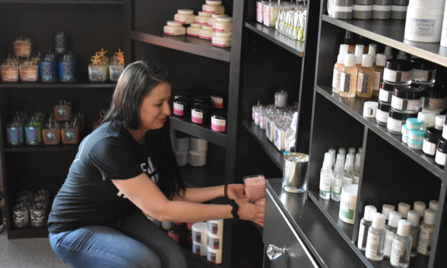 Entrepreneur takes 'wings' in new store