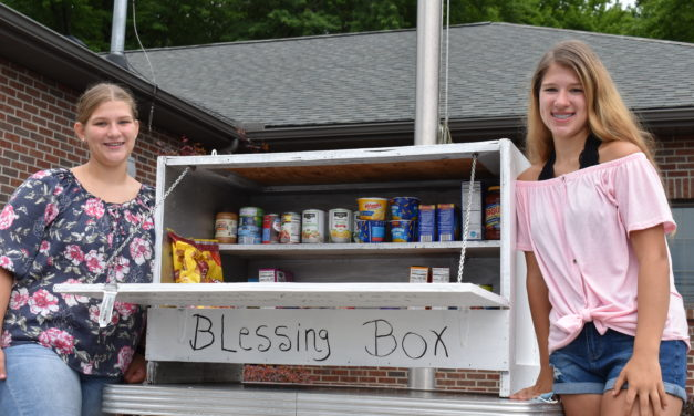 Sisters establish Blessing Box to aid with food needs
