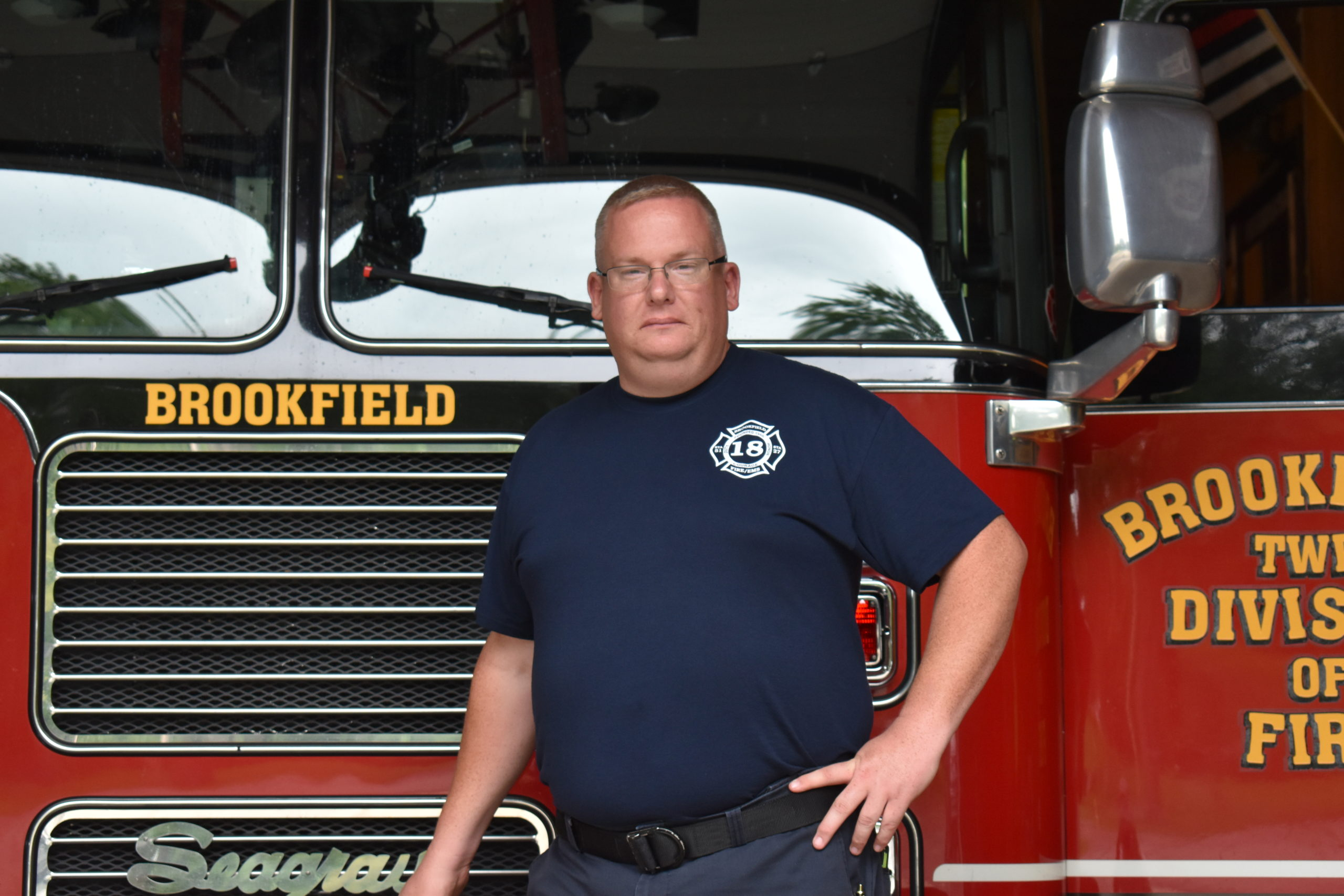 Brookfield Fire Capt. James Williamson