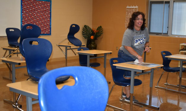 School staff excited to be back to in-person learning