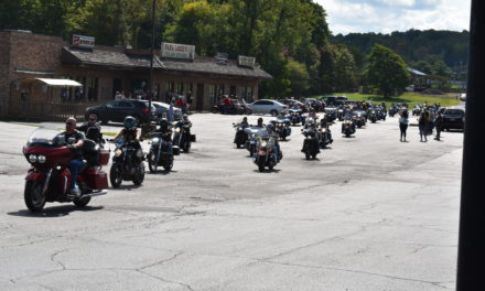 Bikers honor 'one of our own,' raise funds for son