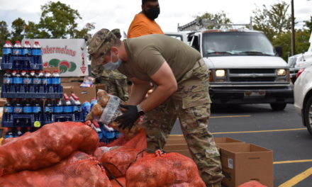 Food giveaway makes a difference
