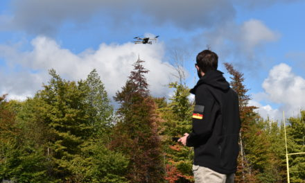 Student gives focus to school's drone program