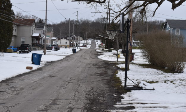 Road crew to move basketball hoops