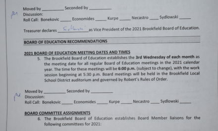 Brookfield Board of Education Meetings